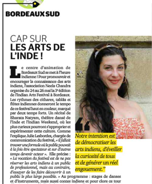 Indian Arts Festival 2013 - Bordeaux Magazine